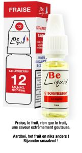 Liquide strawberry 10 ml 12g