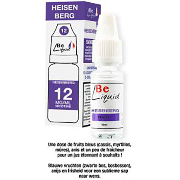 Heisenberg 10 ml 12mg