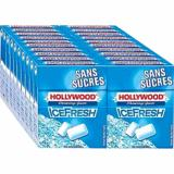 HOLLYWOOD Dragée ice fresh sans sucre Boite de 20 étuis