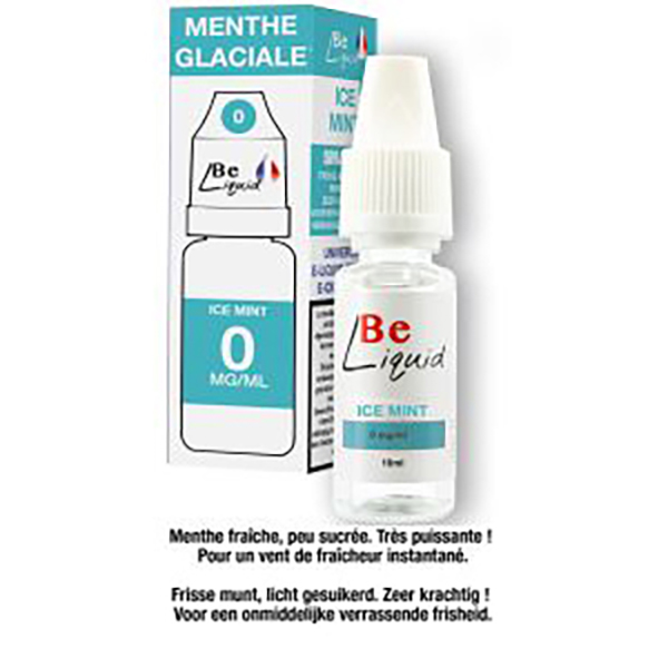 Menthe glaciale 10 ml 0mg
