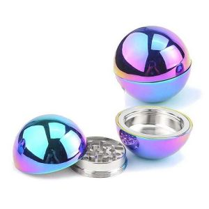 62321-GRINDER RAGGA METAL RAINBOW BALL 5.3 CMS X 6