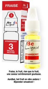 Liquide strawberry 10 ml 3g